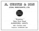A. CURTIS & Son - Coal Merchant