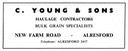 C. YOUNG & Son - Haulage Contractor