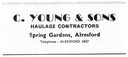 C YOUNG & Sons - Haulage Contractor