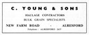 C. YOUNG & Sons - Haulage Contractor