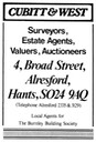 CUBITT & WEST [2] - Estate Agent