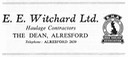 E E WITCHARD - Haulage Contractor