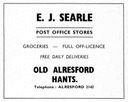 E. SEARLE  - Post Office Stores