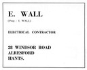 E. WALL - Electrical