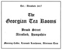 GEORGIAN TEA ROOMS