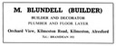 M. BLUNDELL - Builder & Decorator