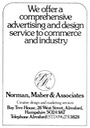 NORMAN, MABER & Assocs - Advertising