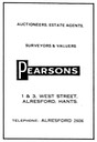 PEARSONS [2] - Estate Agent