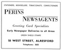 PERINS NEWSAGENTS