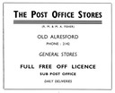 POST OFFICE STORES - General Store