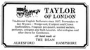 TAYLOR OF LONDON - Perfumers