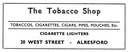 TOBACCO SHOP - Tobacconist